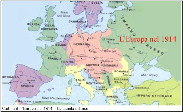 Cartina Europa 900.Storia A D School Pagina 5