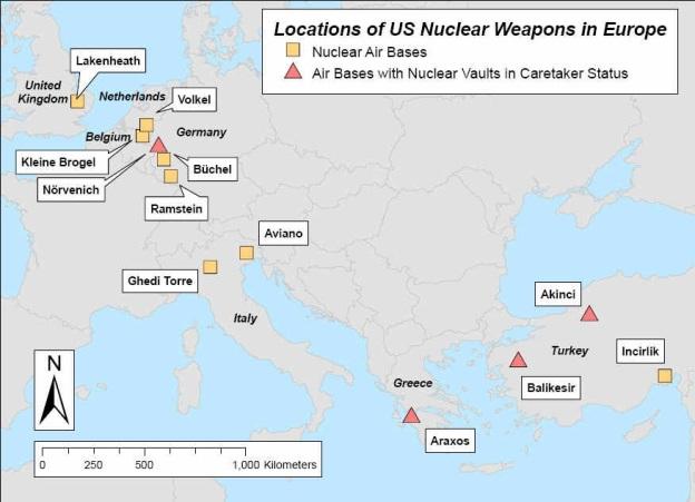 basi NATO con nucleare